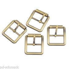 10 Metall Schnallen Ersatzschnalle Buckles für Taschen Schuhen Bronze 30x27mm