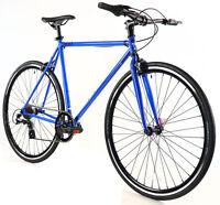 Golden Cycles Velo Revo Shift 7 speed Bicycle Bike Blue 41 45 48 52 55 59 62 CM