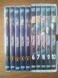 "ENSEMBLE DE 10 DVD ""LES MAITRES DE L'UNIVERS"" VF VOLUMES 1 A 10"