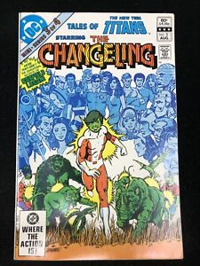Tales of the New Teen Titans #3 Origin of Changeling (DC 1982) 9.2 NM-