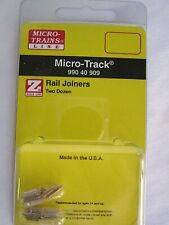 Z scale Micro Trains Line #990 40 909 RAIL JOINERS,  pack with 2 dozen