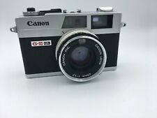 Canon Canonet QL17 G-III 35mm Rangefinder Film Camera, 40mm f/1.7 lens
