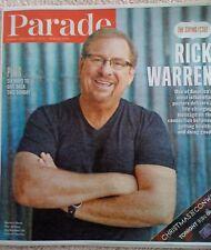 Parade Magazine December 1 2013 Rick Warren, The Daniel Plan, Giving Sunday