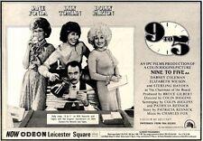 7/2/81PGN23 ADVERT: JANE FONDA & DOLLY PARTON STAR IN NINE TO FIVE 7X11