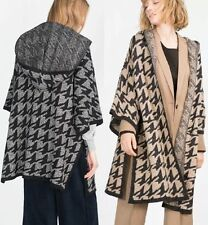 Ponchos Wool Blend None Casual Coats & Jackets for Women
