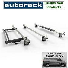 Renault Traffic Van Current Model (2014-onward) Roof Rack 3 Bars with Roller Kit
