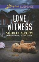 Lone Witness [FBI: Special Crimes Unit, 4] [ McCoy, Shirlee ] Used - Good