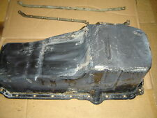 350 Chevrolet  / GMC 5.7 engine oil pan for 1 peice rear main seal  GM 10128320