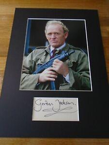 Gordon Jackson The Professionals Genuine Signed Autograph - UACC / AFTAL.