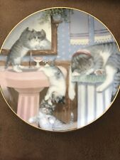 """Mischief Makers� By Gre' Gerardo Collection Hamilton Plate Cat 1988"