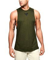 Under Armour Men's Project Rock Charged Cotton Tank Top Fast Drying 1351523-315