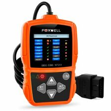 OBDII Auto Code Reader Scanner Check Engine Fault Diagnostic Tool Foxwell NT201
