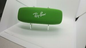 RAY-BAN JUNIOR SUNGLASSES EYEGLASSES OPTICAL HARD GREEN CASE ONLY