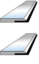 2 fers de dégauchisseuse CARBURE en 200 x 20 x 2.5 mm - Top qualité !