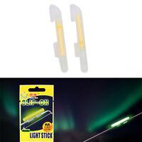 20x Fishing Lights Night Fluorescent Glow Stick Lightstick Clip-on Rod 4sizes IS