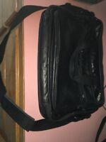 Black Leather Messanger Bag