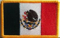MEXICO Flag Patch W/ VELCRO® Brand Fastener Morale Tactical Emblem #9