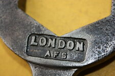 LONDON AFS FIRE SERVICE BRIGADE WW2 HOSE WRENCH NOZZLE SPANNER FIREMAN ENGINE #