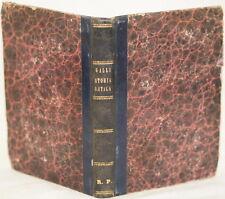 GALLI STORIA ANTICA ITALIA ROMA BOTTERI GEOGRAFIA PEROSINO PROSODIA LATINA 1863
