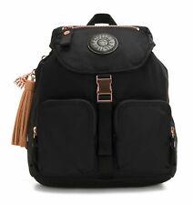 kipling Paka Plus Inan Medium Backpack M Rucksack Tasche Rose Black