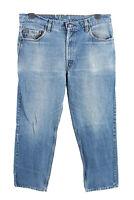 Vintage Levis 509 High Waist Unisex Denim Jeans Size W36 L29 Mid Blue - J4566