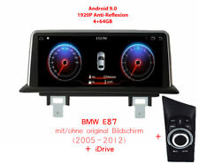 "BMW E87 10.25"" Anti-Glare 1920p Touch Android 9.0 Autoradio Navi 8-core 4+64GB"