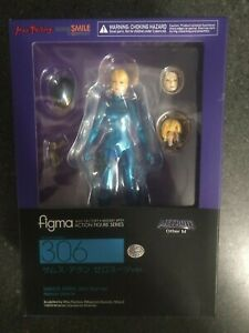 Figma Samus Zero Suit Ver. Metroid Other M Figma 306 Max Factory MIB USA