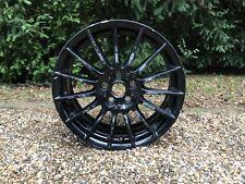 """1x Genuine Jaguar XE R-Sport 17"""" Alloy Wheel Rim Black 6.5Jx17 (GX73-1007-TA)"""