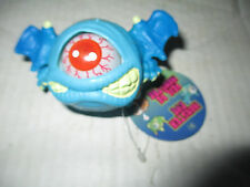 Blue Eye Monster Ball w/ Wings Figure Cyclops Toy Toysmith Eye Pops In and Out