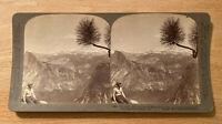 Half Dome, Nevada Falls, Cap of Liberty,Yosemite Valley – 1902 Stereoview Slide
