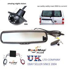 volkswagen caddy maxi rear reversing camera 4.3 rear view mirror monitor kit