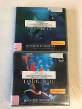 Jennifer Donnelly 2 Audiobook Lot Deep Blue & Dark Tide CD (14 CDs)