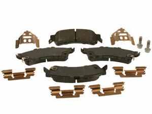 Rear AC Delco Brake Pad Set fits Volvo S40 2004-2011 88ZPNP