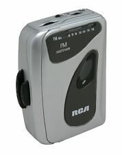 RCA Portable Walkman Personal Cassette Player with FM Radio.