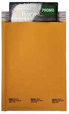 "250 #0 6x10 "" Bubble - Lite "" Kraft Bubble Mailers Padded Envelopes Bags Quality"