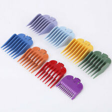 8 Pcs Universal Hair Clipper Limit Combs Guide Attachment Size Replacement