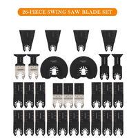 26x mélanger lames de scie oscillante outil pour Fein Multimaster Makita DEWALT