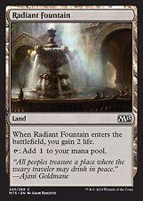 *MRM* FR 4x fontaine radieuse MTG Magic 2010-2015