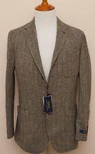 NEW Polo Ralph Lauren Wool Blend Gray Herringbone Sportcoat Blazer Jacket 44R