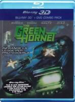 El avispón verde 3D The Green Hornet  Blu-ray 3D+2D+DVD REGION LIBRE.A-B-C