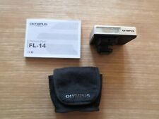 Olympus Pen Electronic Flash FL-14 Silver With Case