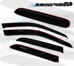 Rain Guards Sun Visor Deflector & Sunroof Combo 5pcs for 06-14 Subaru B9 Tribeca