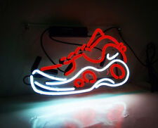 Sneakers Shoes Decor Wall Porcelain Beer Display Store Gift Handmade Neon Sign