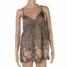 Casual Classic Silk Vest Top, Strappy, Cami Women's Tops & Shirts