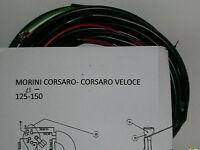 IMPIANTO ELETTRICO ELECTRICAL WIRING MORINI CORSARO 125/150 +SCHEMA ELETTRICO
