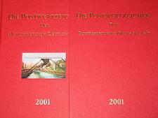 BRD GERMANY 2001 Jahrgang Postwertzeichen Complete Year Set incl. S/S MNH Folder