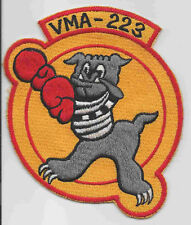 1950s VMA-223 BULLDOGS patch