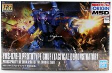 Gundam 1/144 HG The Origin #004 Prototype Gouf Tactical Demonstrator Model Kit