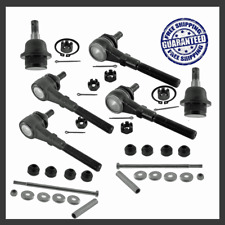 Steering Kit Tie Rod End Lower Ball Joint Sway Bar For 98-02 Lincoln Navigator