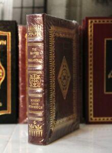MASTER OF BALLANTRAE - Easton Press - Robert Louis Stevenson - SEALED w/ BOX
